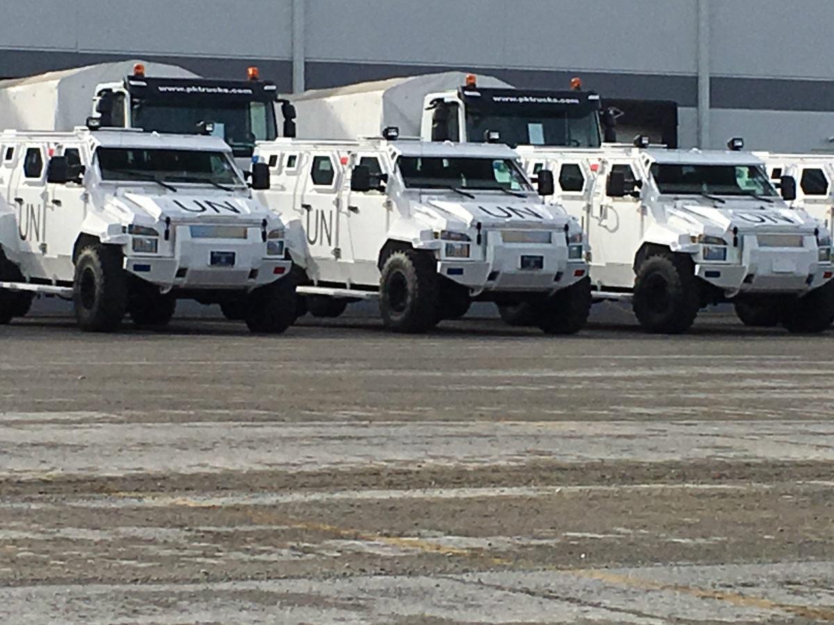 United Nations Vehicles